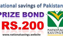 Draw 77, Rs. 200 Prize Bond List, Multan On 15-03-2019 Results