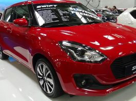 The new model of the Suzuki Swift 2018 will be introduced next month
