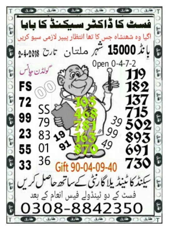 15000 Prize bond Guess Papers (4)