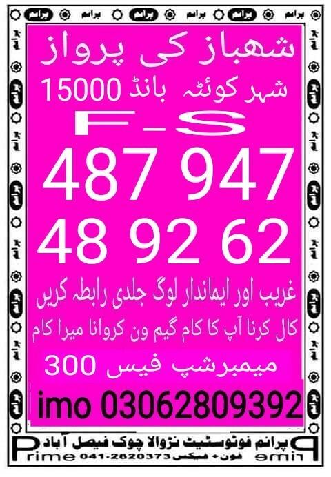 Shahbaz ki Parwaz 15000 Guess papers, prize bond guess papers (4)