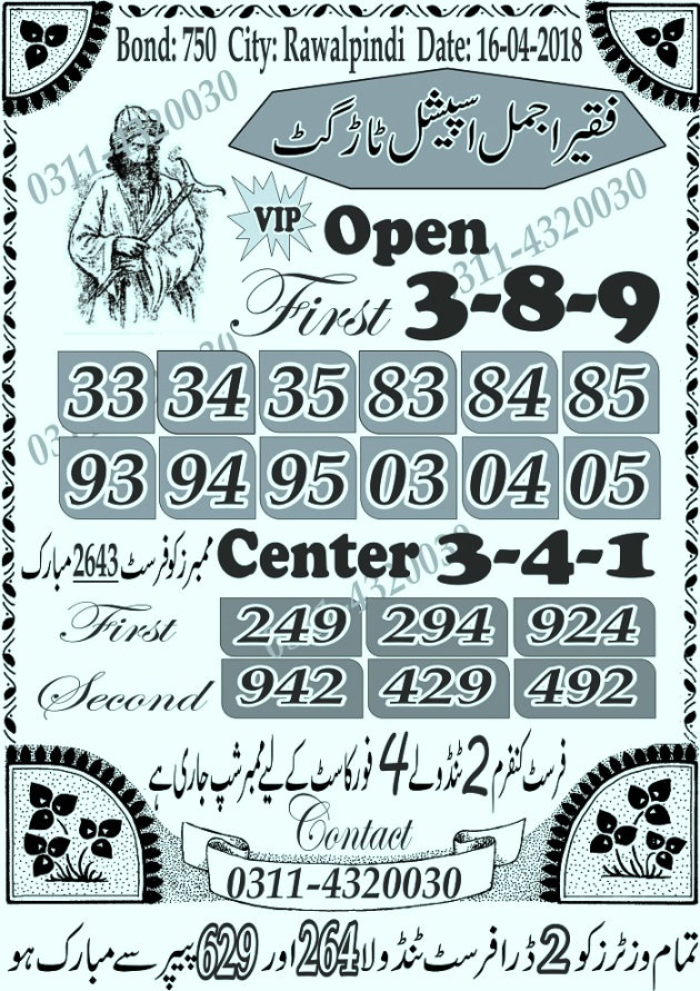 750 Prize bond Guess papers Rawalpindi 2018 (7)